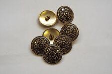 10pc 13mm antique gold turc inspiré en métal manteau cardigan knitwear bouton 3350