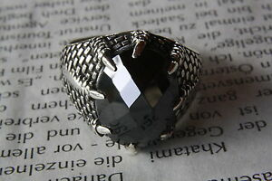 Dragon Claws Zirconia Gothic Ring 925 Silver Ring 298