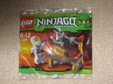 Lego Ninjago Hidden Sword Zane 30086 - New in Sealed Bag