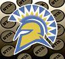 San Jose State Spartans Logo NCAA Die Cut Vinyl Sticker Car Window Bumper Decal