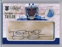 TAYWAN TAYLOR - 2017 Certified Cuts 2 Color Patch Cut AUTO /299 - Titans RC