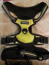 New listing Rabbitgoo No Pull Dog Harness Yellow/Black X-Large