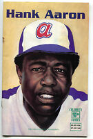 Hank Aaron 1 Celebrity Comics 1992 VG Text Biography