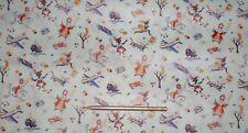 1 uralt Bogen Weihnachtspapier Nikolaus und zwarte Piet je ca. 75x 50cm