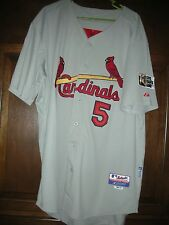 NWT., MEN'S PUJOLS CARDINALS CIVIL RIGHTS GAME JERSEY, Size 54, MAJESTIC