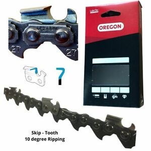 """Oregon 27RA Skip-Tooth Ripping Chain .404"""" .063"""" 84DL"""