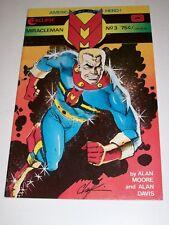 Miracleman #3 Vf- 1985 Eclipse Comics Alan Moore