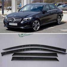 For Mercedes-Benz E W212 09-15 Window Side Visors Sun Rain Guard Vent Deflectors