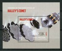 Tonga 2017 MNH Halleys Halley's Comet 1v M/S Space Stamps