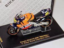 1/24 Honda RC211V Repsol #46 Valentino Rossi 2002 Champion