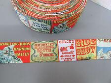 CIRCO GROS Grain Nastro 2.5cm x 1 metro cucito/artigianato/Torta
