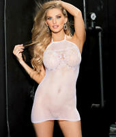 Shirley of Hollywood Micro Net Chemise Lingerie - Women's