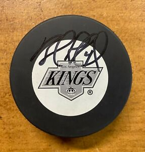 Rob Blake Signed Los Angeles Kings Hockey Puck