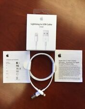 New Authentic OEM Apple MD818ZM/A Lightning USB Data Cable for iPhone 5 5c 5s 6