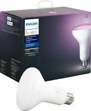 Philips - Hue White & Color Ambiance BR30 2nd Generation Smart LED Bulb - Mul...
