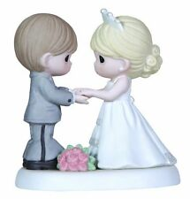 Precious Moments, From This Day Forward Bisque Porcelain Figurine, 123017 New