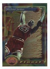 MICHAEL JORDAN 1993 1994 TOPPS FINEST BULLS #1