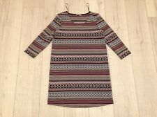 TU Woman's UK Size 8 Multicoloured 100% Polyester Dress BNWOT £22