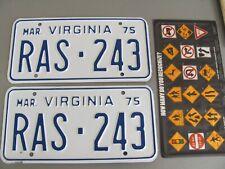 1975 Virginia License Plate - Unissued