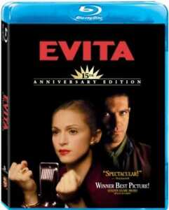 Evita (Madonna Antonio Banderas) Anniversary Edition Region B Blu-ray