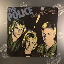 THE POLICE • Outlandos d'Amour • AMLH 86502 • Vinyl LP • First Pressing• EX-/EX-