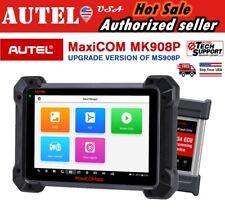 2020 New Autel MK908P Scanner Automotive OBD2 J2534 ECU Key Programming Airbag