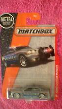 Matchbox (US Card) - 2016 - #86 Dodge Charger Pursuit - Metallic Grey & Blue