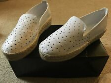 Rock & republic NEW sz 7 shoes Espalldas white studded $79.99 womans ladies B84