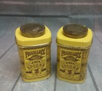 Franklin's Famous Java Spices Tins replica (2) -  Case Manufacturing Co., Inc.