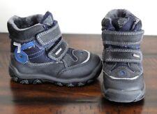Primigi Boys Winter Boots sz 7 7.5 Boys Shoes Gore-Tex All Weather Blue Black