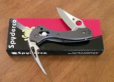 SPYDERCO New Titanium Handle Tusk 2 Blade Lanyard Spike Knife/Knives