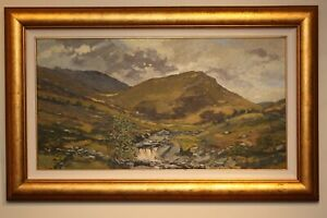 Original Oil Painting ISLE OF ARRAN, SCOTLAND by Scottish Artist MORGAN FISHER