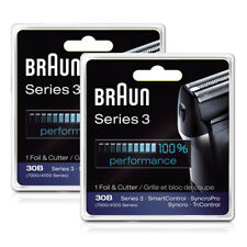 Braun 7000FC/30B Shaver Replacement Pack F/ 7516 / 7520 / 7526 2 Pack