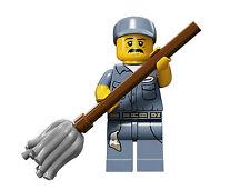 Series 15 n-09 Janitor 71011 LEGO,portero,minifigure,serie