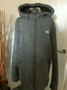 THE NORTH FACE FAUX FUR LINED HOODED JACKET SIZE LARGE