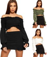 Long Sleeve Boho Regular Size Tops for Women