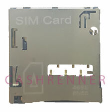 SIM Konnektor Karten Leser Halter Card Reader Connector HTC Desire 500 & Dual