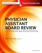PHYSICIAN ASSISTANT BOARD REVIEW- 3rd edition- JAMES VAN RHEE