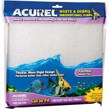 """ACUREL - Poly Fiber Media Aquarium Filter Pad - 18"""" x 10"""""""