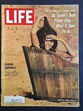 Life Magazine July 8 1966 Claudia Cardinale