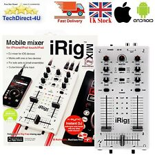 i Rig IK Multimedia iRig MIX Mobile Mixer For iPhone, iPad & Android Devices