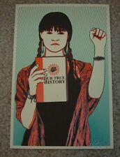 ERNESTO YERENA Print OUR TRUE HISTORY handbill poster shepard fairey