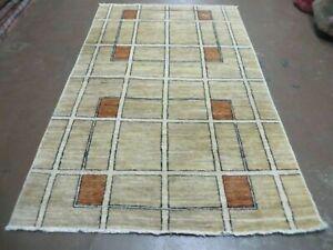 4' X 6'  Hand Made Tibetan Nepal Chinese Wool Rug Nice