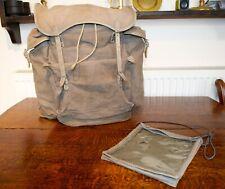Vintage Military External Frame Backpack Rondane Brede Vollestad Oslo & Map Case
