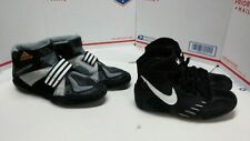 Lot of 2 Pairs Of Youth Wrestling Shoes - Adidas + Nike - Sz 1 +++