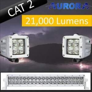 Aurora CAT 2 Bundle - 20 Inch Plus 3 Inch - 21,000 Lumens
