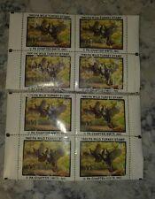 U.S. 1983 Pennsylvania Wild Turkey Stamp Plate # blocks