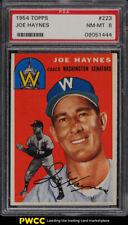 1954 Topps Joe Haynes #223 PSA 8 NM-MT (PWCC)