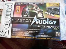 Creative Sound Blaster Audigy Platinum eX  complete package