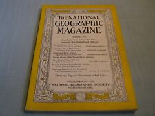 VINTAGE NATIONAL GEOGRAPHIC March 1941 OKLAHOMA New Guinea PACIFIC CORALS Marlin
